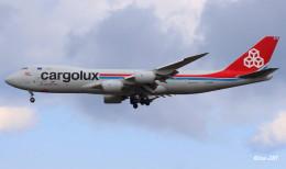 RINA-281さんが、小松空港で撮影したカーゴルクス 747-8R7F/SCDの航空フォト(飛行機 写真・画像)