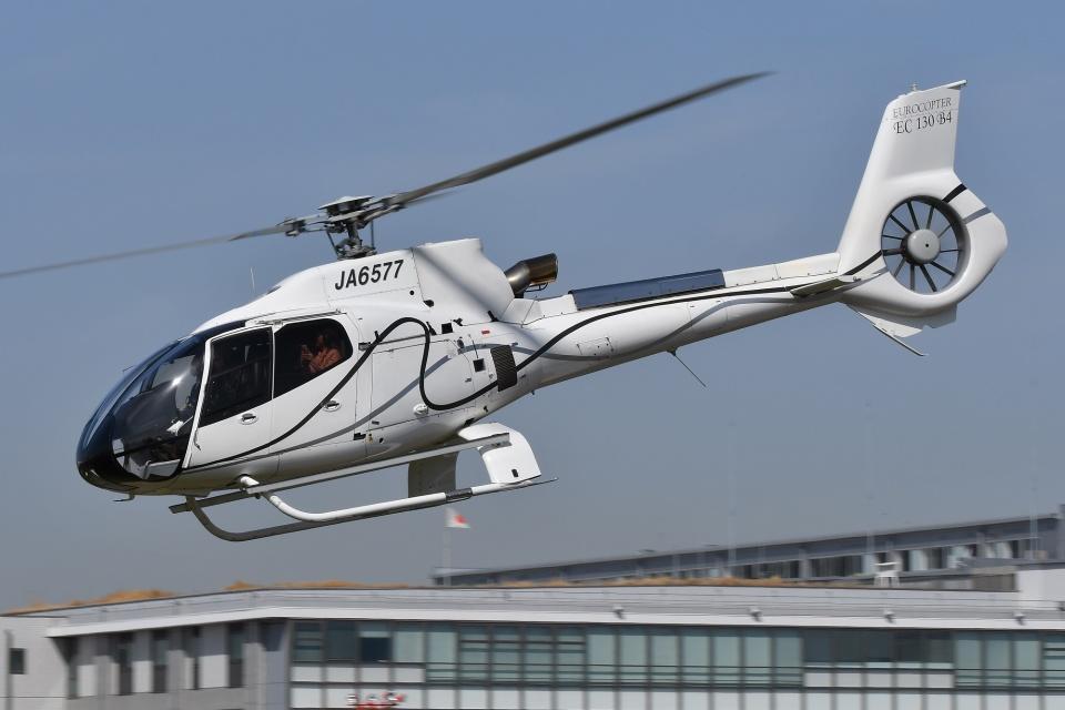 ブルーさんさんのオートパンサー Eurocopter EC130 (JA6577) 航空フォト