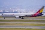 SFJ_capさんが、関西国際空港で撮影したアシアナ航空 767-38EF/ERの航空フォト(飛行機 写真・画像)