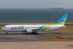 RUNWAY23.TADAさんが、羽田空港で撮影したAIR DO 767-381/ERの航空フォト(飛行機 写真・画像)