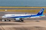 RUNWAY23.TADAさんが、羽田空港で撮影した全日空 A320-214の航空フォト(飛行機 写真・画像)