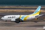 RUNWAY23.TADAさんが、羽田空港で撮影したAIR DO 737-781の航空フォト(飛行機 写真・画像)