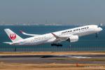 RUNWAY23.TADAさんが、羽田空港で撮影した日本航空 A350-941の航空フォト(飛行機 写真・画像)