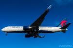 RUNWAY23.TADAさんが、成田国際空港で撮影したデルタ航空 767-332/ERの航空フォト(飛行機 写真・画像)