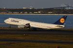 のぎスポさんが、羽田空港で撮影したルフトハンザドイツ航空 747-830の航空フォト(飛行機 写真・画像)