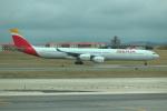 kenzy201さんが、リスボン・ウンベルト・デルガード空港で撮影したイベリア航空 A340-642Xの航空フォト(飛行機 写真・画像)