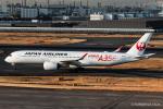 RUNWAY23.TADAさんが、羽田空港で撮影した日本航空 A350-941XWBの航空フォト(飛行機 写真・画像)
