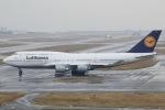 Hii82さんが、関西国際空港で撮影したルフトハンザドイツ航空 747-430の航空フォト(飛行機 写真・画像)