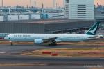 RUNWAY23.TADAさんが、羽田空港で撮影したキャセイパシフィック航空 777-367/ERの航空フォト(飛行機 写真・画像)
