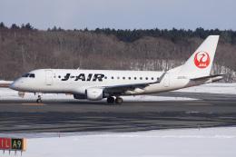 神宮寺ももさんが、新千歳空港で撮影したジェイ・エア ERJ-170-100 (ERJ-170STD)の航空フォト(飛行機 写真・画像)