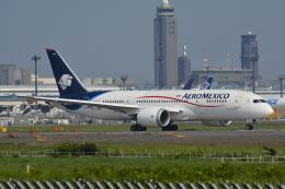 LEGACY-747さんが、成田国際空港で撮影したアエロメヒコ航空 787-8 Dreamlinerの航空フォト(飛行機 写真・画像)