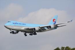 LEGACY-747さんが、成田国際空港で撮影した大韓航空 747-4B5F/SCDの航空フォト(飛行機 写真・画像)