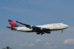 LEGACY-747さんが、成田国際空港で撮影したデルタ航空 747-451の航空フォト(飛行機 写真・画像)