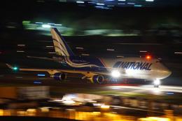 ちゃぽんさんが、成田国際空港で撮影したナショナル・エア・カーゴ 747-428(BCF)の航空フォト(飛行機 写真・画像)