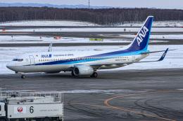ぐっちーさんが、新千歳空港で撮影した全日空 737-8ALの航空フォト(飛行機 写真・画像)