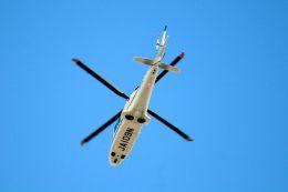 まいけるさんが、東京・浅草上空で撮影したノエビア AW109SP GrandNewの航空フォト(飛行機 写真・画像)