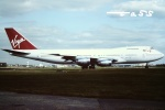 tassさんが、ロンドン・ガトウィック空港で撮影したヴァージン・アトランティック航空 747-219Bの航空フォト(飛行機 写真・画像)