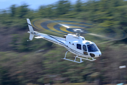 Nao0407さんが、松本空港で撮影した雄飛航空 AS350B Ecureuilの航空フォト(飛行機 写真・画像)