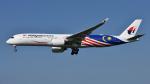 saoya_saodakeさんが、成田国際空港で撮影したマレーシア航空 A350-941XWBの航空フォト(飛行機 写真・画像)