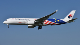 航空フォト:9M-MAC マレーシア航空 A350-900