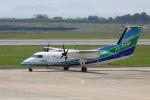 赤ちんさんが、長崎空港で撮影したオリエンタルエアブリッジ DHC-8-201Q Dash 8の航空フォト(飛行機 写真・画像)