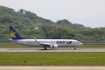 赤ちんさんが、長崎空港で撮影したスカイマーク 737-82Yの航空フォト(飛行機 写真・画像)