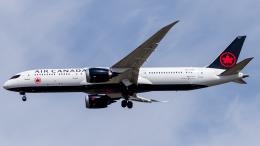 Shotaroさんが、上海浦東国際空港で撮影したエア・カナダ 787-9の航空フォト(飛行機 写真・画像)