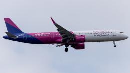 Shotaroさんが、上海浦東国際空港で撮影したウィズ・エア A321-271NXの航空フォト(飛行機 写真・画像)