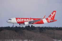 神宮寺ももさんが、新千歳空港で撮影したエアアジア・ジャパン A320-216の航空フォト(飛行機 写真・画像)