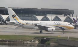 Rsaさんが、スワンナプーム国際空港で撮影したミャンマー国際航空 A319-112の航空フォト(飛行機 写真・画像)