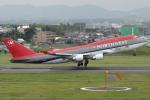 Hariboさんが、名古屋飛行場で撮影したノースウエスト航空 747-451の航空フォト(飛行機 写真・画像)