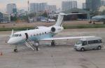 Rsaさんが、タンソンニャット国際空港で撮影したアメリカ企業所有 G350/G450の航空フォト(飛行機 写真・画像)