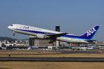 のぎスポさんが、伊丹空港で撮影した全日空 767-381/ERの航空フォト(飛行機 写真・画像)