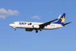 mocohide☆さんが、福岡空港で撮影したスカイマーク 737-8ALの航空フォト(飛行機 写真・画像)