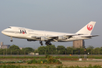 Hariboさんが、名古屋飛行場で撮影した日本航空 747-246Bの航空フォト(飛行機 写真・画像)