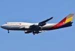 あしゅーさんが、成田国際空港で撮影したアシアナ航空 747-48Eの航空フォト(飛行機 写真・画像)