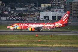 Tarochanさんが、福岡空港で撮影した中国聯合航空 737-89Pの航空フォト(飛行機 写真・画像)