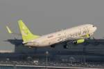 imosaさんが、羽田空港で撮影したソラシド エア 737-81Dの航空フォト(飛行機 写真・画像)