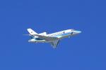 Shin-chaさんが、那覇空港で撮影した海上保安庁 Falcon 900の航空フォト(飛行機 写真・画像)