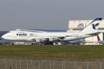 Hariboさんが、成田国際空港で撮影したイラン航空 747-186Bの航空フォト(飛行機 写真・画像)