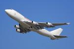 ちゃぽんさんが、成田国際空港で撮影したカリッタ エア 747-4B5F/SCDの航空フォト(飛行機 写真・画像)