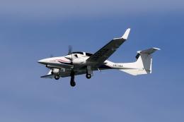 TAKAHIDEさんが、新潟空港で撮影したアルファーアビエィション DA42 NG TwinStarの航空フォト(飛行機 写真・画像)