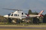 MOR1(新アカウント)さんが、鹿児島空港で撮影した鹿児島国際航空 A109E Powerの航空フォト(飛行機 写真・画像)
