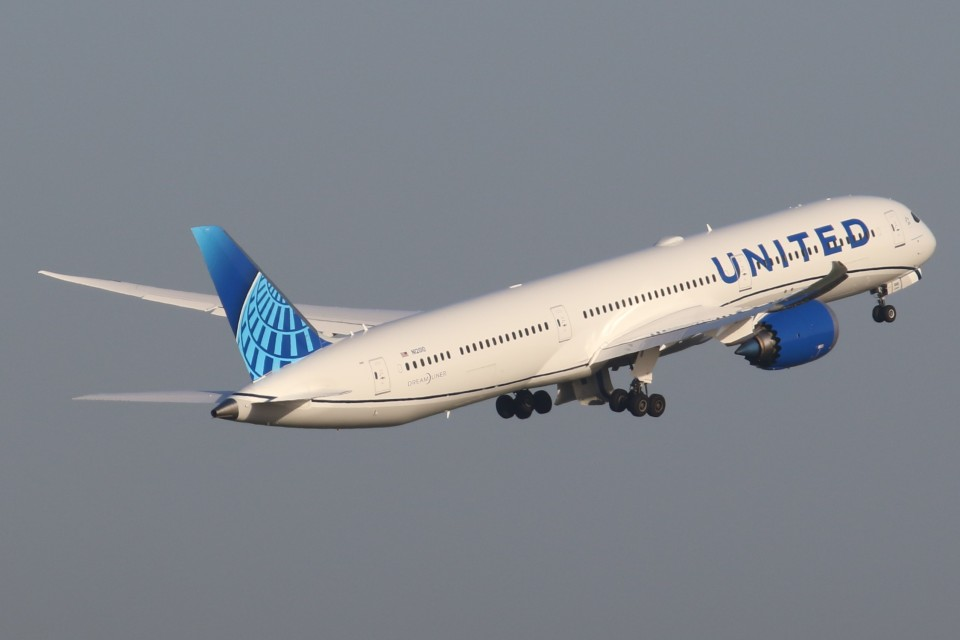 tg36aさんのユナイテッド航空 Boeing 787-10 (N12010) 航空フォト