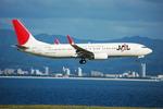 snow_shinさんが、関西国際空港で撮影した日本航空 737-846の航空フォト(飛行機 写真・画像)