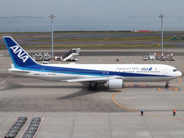 FT51ANさんが、羽田空港で撮影した全日空 767-381/ERの航空フォト(飛行機 写真・画像)