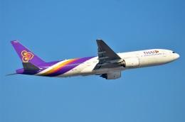 amagoさんが、スワンナプーム国際空港で撮影したタイ国際航空 777-2D7の航空フォト(飛行機 写真・画像)