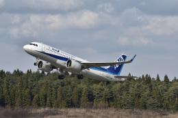 まっちゃんさんが、秋田空港で撮影した全日空 A320-271Nの航空フォト(飛行機 写真・画像)