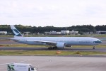 Mr.boneさんが、成田国際空港で撮影したキャセイパシフィック航空 777-367/ERの航空フォト(飛行機 写真・画像)