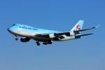 メンチカツさんが、成田国際空港で撮影した大韓航空 747-4B5F/ER/SCDの航空フォト(飛行機 写真・画像)